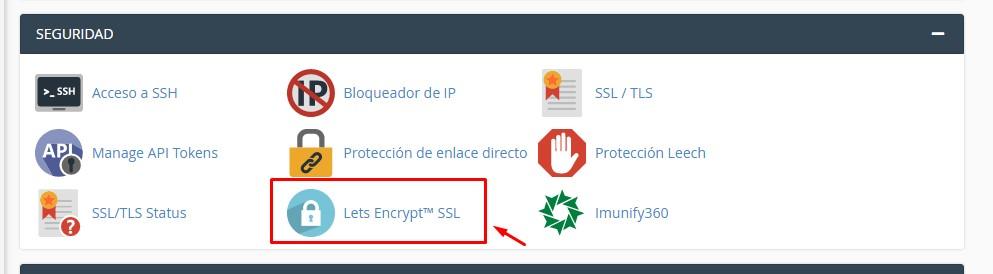 como activar el ssl lets encrypt