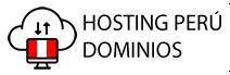 logo hosting peru dominios